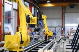 Fahrgemeinschaft: Zwei Roboter auf Achse