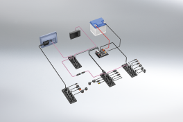 Systembaukasten für mobile Maschinen