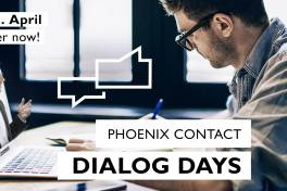 Phoenix Contact Dialog Days: Virtuelle Konferenz informiert über Innovationen, Technologien und Trends