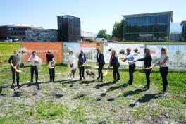 Baustart des neuen Vorarlberger Unternehmensstandorts für SEW-Eurodrive Österreich