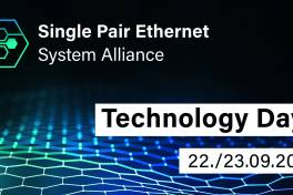 Technology Days: Internationale Digitalkonferenz zu Single Pair Ethernet