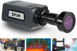 Flir präsentiert die FLIR A6780 Mittel- und Langwellen-Wärmebildkameras