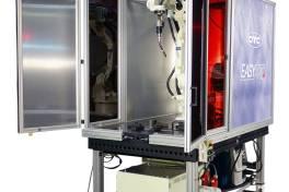 Mobile Schweißzelle für den Werkstattbetrieb