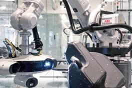 Roboterzelle zur 3D-Inspektion