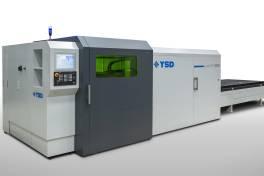 Neue LVD-Laserschneidmaschine unter Marke YSD