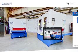 Digitaler Showroom für Schleifmaschinen