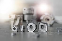 Fräswendeplatten mit Einsatzerkennung