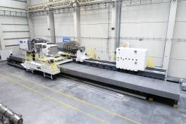 Doppelbett-Drehmaschine mit hydrostatischer Führung