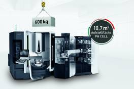 Modulares Automationskonzept bis 40 Paletten