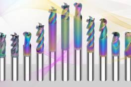 Werkzeugprogramm zur Aluminiumzerspanung