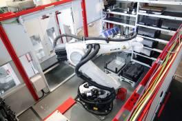 Moderner Maschinenpark als Impulsgeber