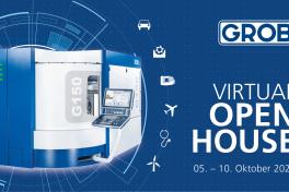 Premiere der G150 Universalmaschine auf dem ersten Virtual Open House