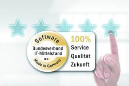 "PROXIA MES mit dem BITMi-Gütesiegel ""Software Made in Germany"" zertifiziert"