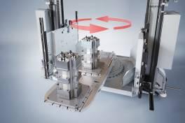 Regalbediengerät mit Doppellader-Funktion