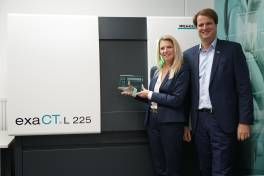 Frost & Sullivan Innovation Award geht an Wenzels Computertomographen exaCT L