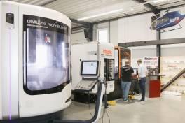 Zukunftsweisende Werkzeugmaschine im Einsatz für Softwareentwicklung bei deutschem Mastercam-Distributor InterCAM