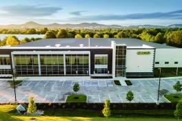 Horn USA baut neues Gebäude mit Platz für zukünftige Erweiterungen