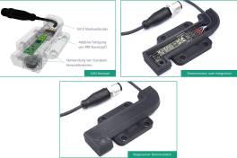 Sensoren aus dem Drucker