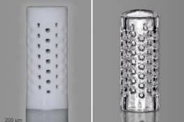 Glas als neues Druckmaterial in der 3D-Mikrofabrikation
