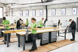 Neue Lehrwerkstatt bei 1zu1: Ideale Startbedingungen für angehende Fachkräfte
