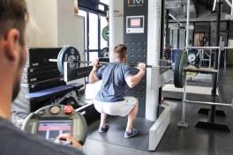 Lineartechnik hält Spitzensportler fit