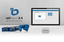 Update Bildverarbeitungsplattform uniVision 2.4