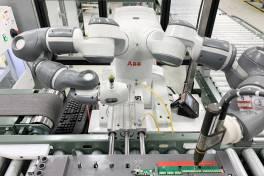 YuMi beschleunigt die Produktion von Frequenzumrichtern