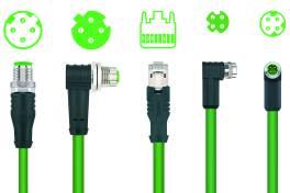 Robotik-Anschlusstechnik für Profinet Typ R