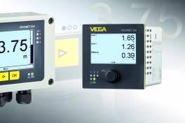 Anzeige- und Steuergeräte VEGAMET zur übersichtlichen Kontrolle der Prozesszustände