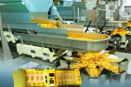 Konfigurierbare Kleinsteuerung sorgt in belgischer Tortilla Chips-Produktionslinie für optimierte Sicherheit und Effizienz