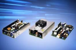 Medizinisch konfigurierbare 500 W-Netzteilserie um zusätzliche Funktionen erweitert