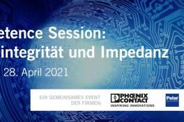 Signalintegrität und Impedanz – Digitale Competence Session