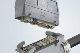 Optimale Bauraum-Nutzung mit Han® L32 B