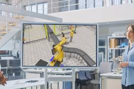 Online-Fachtagung 3D-Fabriksimulation