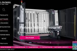 Die neue Rittal-Website: Wegweiser für Industrie- und IT-Lösungen