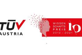 TÜV Austria-Wissenschaftspreis: zehn Projekte auf Short-List