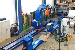 Auf Erfolgskurs mit eigenständigem Maschinenbau