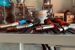 Brennertypen vermessen für optimale Absaugung