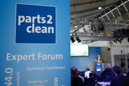 Expertenforum der parts2clean mit vielfältigem Programm