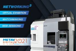 Okuma präsentiert sich auf der METAV digital 2021