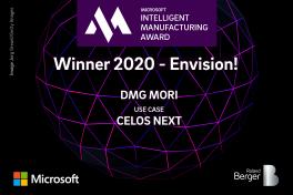 DMG Mori erhält Digitalisierungs-Award für CELOS NEXT