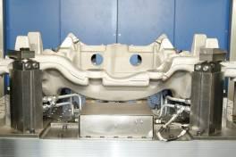 Innovative Spanntechnik erkennt Guss- und Konturfehler bei Aluminiumrohteilen schnell und einfach