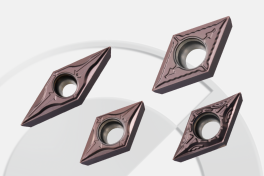 Spanformer und Qualitäten zum Drehen für Swiss-Typ Drehmaschinen
