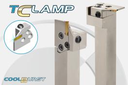 Neue modulare Schneidenträger für T-Clamp