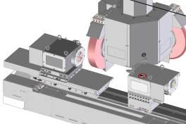 Z2-Achse für automatischen Längenausgleich bei automatisierter Teilezufuhr