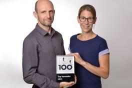 Titelverteidigung: 2021 wieder mit dem TOP 100-Siegel ausgezeichnet