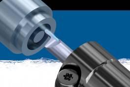 Vollradius-Werkzeuge zum Axialeinstechen