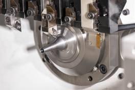 Wechselkopf-Drehsystem für die Kleinteilbearbeitung