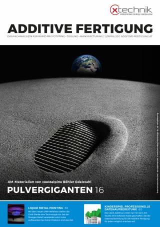 Additive Fertigung Ausgabe 2/April 2020