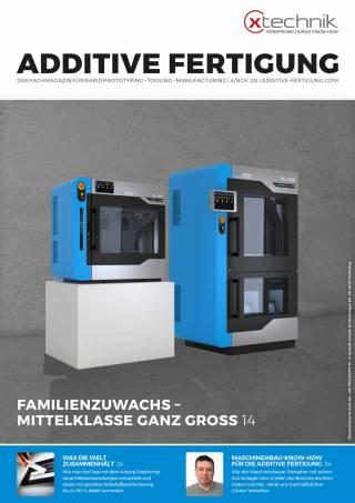 Additive Fertigung Ausgabe 4/November 2020